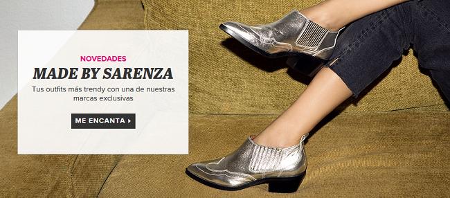Consigue zapatos de mujer Sarenza